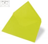 Kuvert B6 180x120mm 90g lindgrün