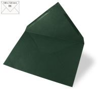Kuvert B6 180x120mm 90g piniengrün