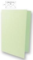 Karte B6 232x168mm 150g Japanseide pastellgrün (Restbestand)