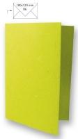 Karte B6 232x168mm 150g Japanseide immergrün (Restbestand)