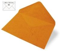 Kuvert B6 180x120mm 80g Japanseide orange (Restbestand)