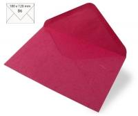 Kuvert B6 180x120mm 80g Japanseide pink (Restbestand)