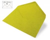 Kuvert B6 180x120mm 80g Japanseide immergrün (Restbestand)