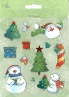 3D-Sticker Weihnachten - Motiv 73