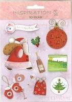 3D-Sticker Weihnachten - Motiv 91