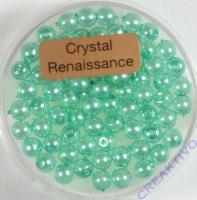 Crystal Renaissance Perlen 4mm helltürkis