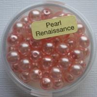 Crystal Renaissance Perlen 6mm rosa