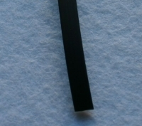 PVC-Band 6mm schwarz 1cm