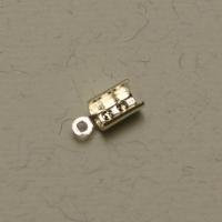Endkappe silber 3mm