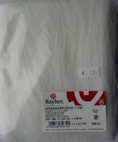 Rayher Langhaarplüsch 30x48cm weiß