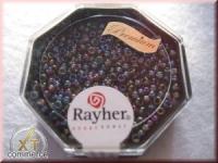 Premium-Rocailles, 2,2 mm ø transparent Rainbow orchidee