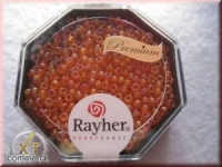 Premium-Rocailles, 2,2 mm ø transparent Rainbow capriorange