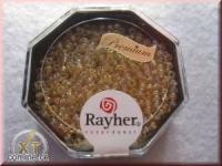 Premium-Rocailles, 2,2 mm ø transparent Rainbow helltopaz
