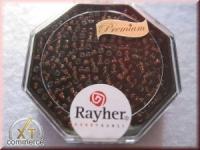 Premium-Rocailles, 2,2 mm ø gold gelüstert violett hell