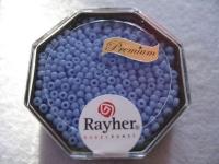 Premium-Rocailles, 2,2 mm ø opak himmelblau