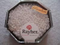 Premium-Rocailles, 2,2 mm ø opak weiß