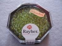 Premium-Rocailles, 2,2 mm ø opak apfelgrün