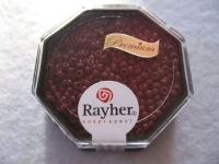 Premium-Rocailles, 2,2 mm ø opak kastanie