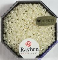 Premium-Rocailles, 2,2 mm ø opak gelüstert perlmutt