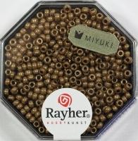 Premium-Rocailles, 2,2 mm ø metallic kupfergold