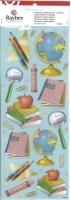 Rayher Embossed Glitter Stickers Schreibtisch (Restbestand)