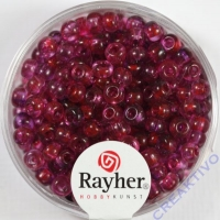 Rayher Rocailles Two Tone 4mm pink