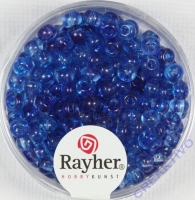 Rayher Rocailles Two Tone 4mm blauviolett