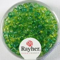 Rayher Rocailles Two Tone 4mm lagune
