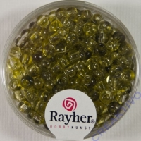 Rayher Rocailles Two Tone 4mm avocado