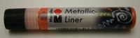 Marabu Metallic Liner 25ml Metallic-orange (Restbestand)