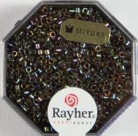 Delica-Rocailles, 2,2 mm ø transparent Rainbow, regenbogen