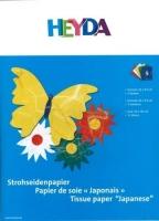 Packung Strohseide 5 Farben 25x35cm