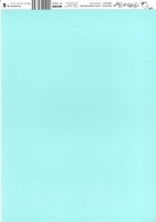 Bastelkarton Happy Papers Streifen DIN A4 hellblau (eher mintfarben)