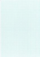 Bastelkarton Happy Papers Karos DIN A4 hellblau (eher mintfarben)