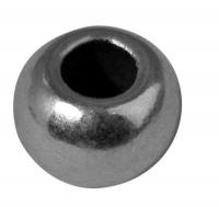 Rockstars Metall-Perle 6mm silber