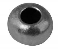 Rockstars Metall-Perle 8mm silber