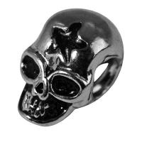 Rockstars Metall-Zierelement Totenkopf 12mm altsilber