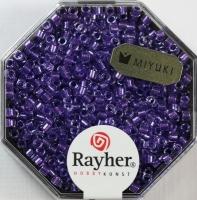 Delica-Rocailles, 2,2 mm ø Perlglanz, violett