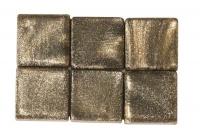 Acryl-Mosaik, 1x1 cm, metallic, orientgrün