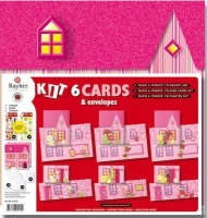 Rayher Deko Kit: 6 Faltkarten