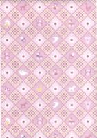 Transparentpapier Baby rosa Motiv 03