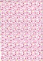 Transparentpapier Baby rosa Motiv 04