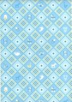 Transparentpapier Baby blau Motiv 03