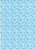 Transparentpapier Baby blau Motiv 04