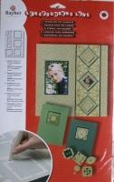 Rayher Schablone für Quadrate 1 Stück