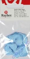 Rayher Stoff-Füße Baby 6 Stück hellblau