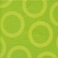 Servietten 33 x 33 cm Circle hellgrün (Restbestand)