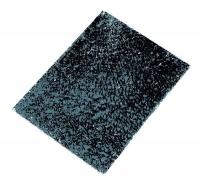 Crackle Mosaik Platte 15x20cm schwarz