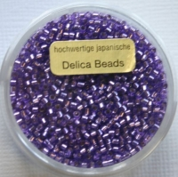 Pracht Delica Rocailles 2mm 9g lila