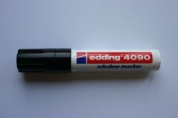 Edding 4090 window marker 4-15mm schwarz